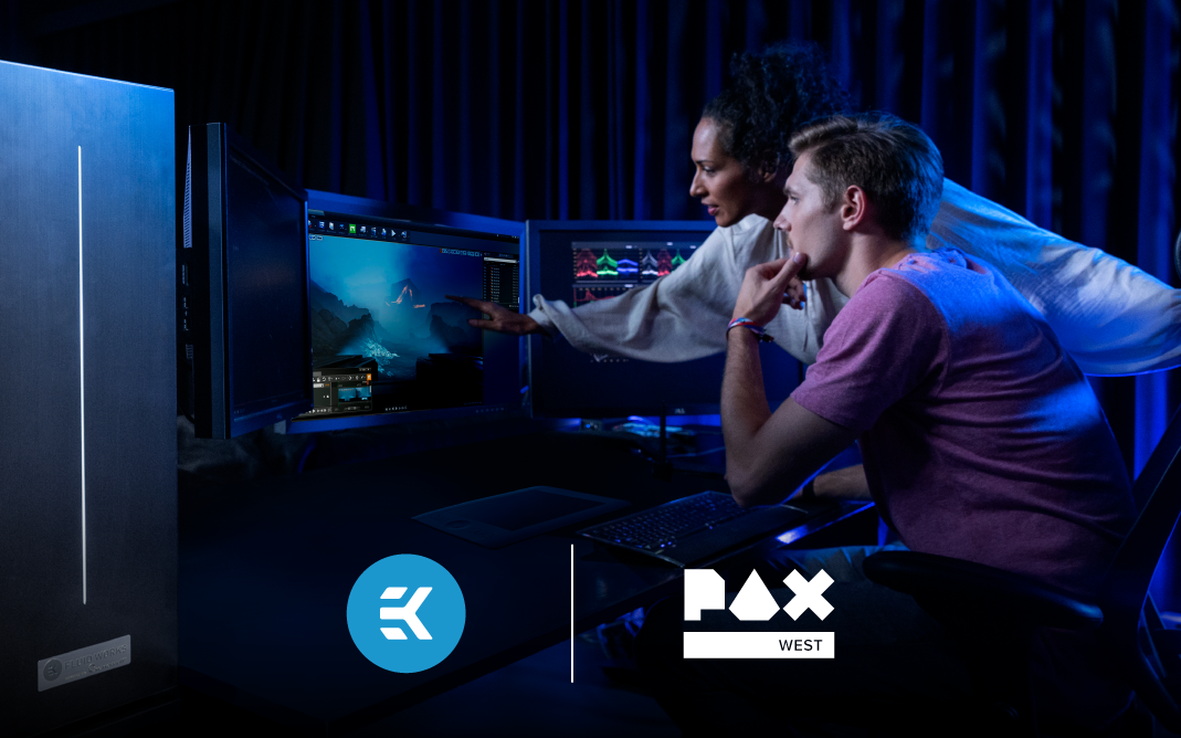 EK CELEBRATES GAMERS AND GAMING CULTURE BY BRINGING PRODUCTS AND INNOVATIONS TO PAX WEST 2021